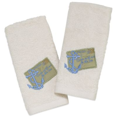 Sea Fingertip Towel