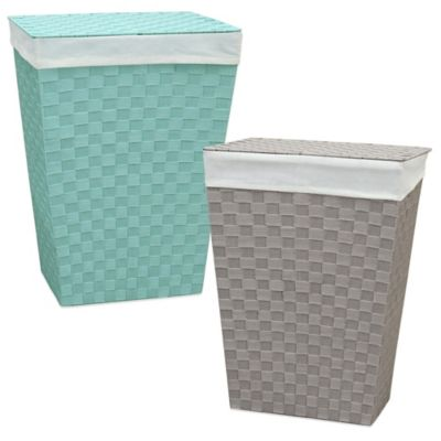 Lamont Home™ Carly Hamper in Cloud Blue