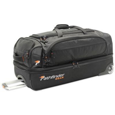 Pathfinder Gear Up 26-Inch Drop Bottom Wheeled Duffle in Black