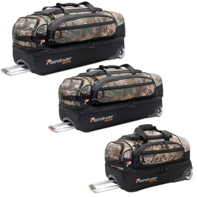 Pathfinder Gear Up 22-Inch Drop Bottom Wheeled Duffel in Realtree®