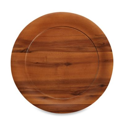 B. Smith 13.3-Inch Wooden Charger
