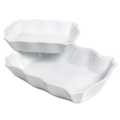 Denmark® Scalloped Serving Bowls (Set of 2)