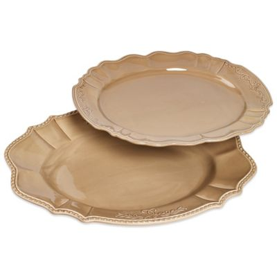 Tabletops Unlimited® Le Provence Graduated Oval Platters (Set of 2)