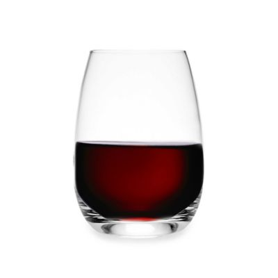 Luigi Bormioli Michelangelo Masterpiece Stemless Wine Glasses (Set of 4)