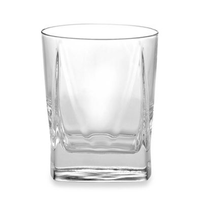 Luigi Bormioli Alfieri Double Old Fashioned Glasses (Set of 4)
