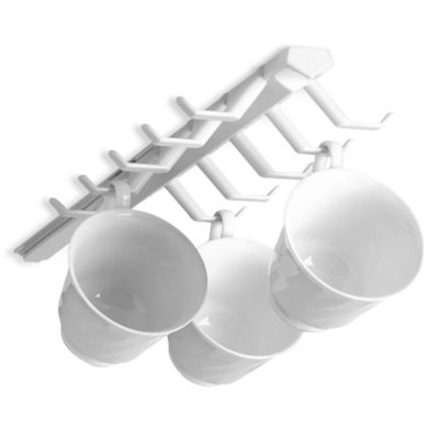 Spectrum™ Sliding Cup Rack 2-Pack in White