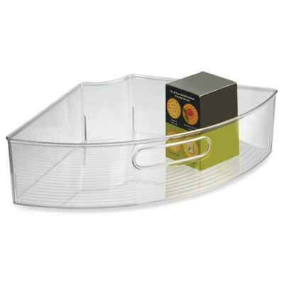 InterDesign® Cabinet Binz™ Lazy Susan Quarter Wedge Storage Bin