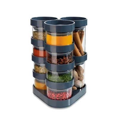 Grey Spice Racks