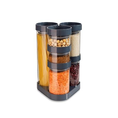 Joseph Joseph® Carousel Food Storage Set in Grey
