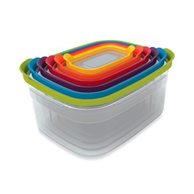 Joseph Joseph® Nest™ Storage Food Containers and Lids in Multi/Clear (Set of 6)