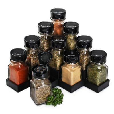 Black Spice Racks
