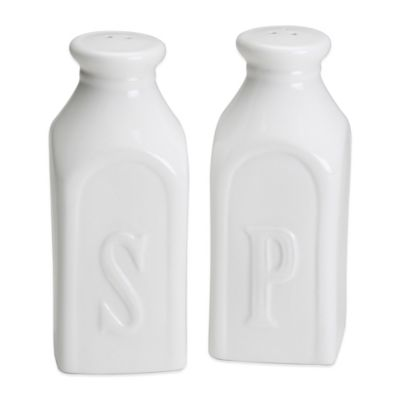 Olde Thompson Milk Bottle Salt & Pepper Shaker Set