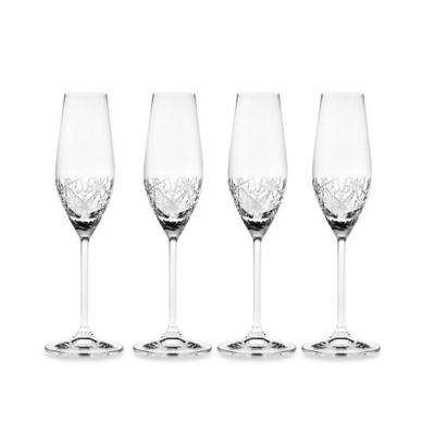 Top Shelf Champagne Flutes