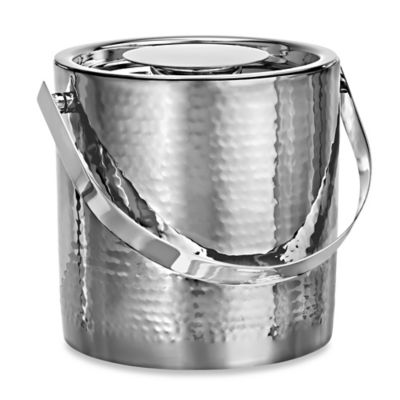 Marquis® by Waterford Vintage Stainless Steel Ice Bucket with Tongs