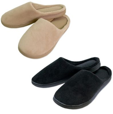 Airia Luxury Unisex Size Medium Perfect Temperature Slippers in Black