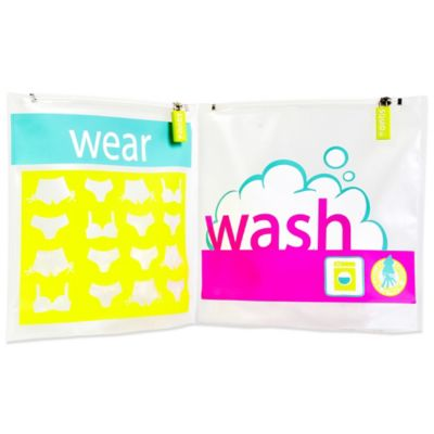 Squid World Wear and Wash Laundry Travel Bag