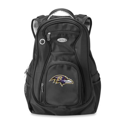 NFL Baltimore Ravens 19-Inch Travel Backpack