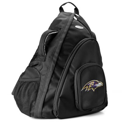 NFL Baltimore Ravens 19-Inch Travel Sling Backpack