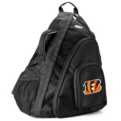 NFL Cincinnati Bengals 19-Inch Travel Sling Backpack