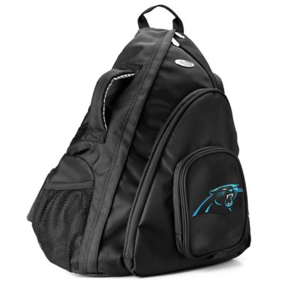 NFL Carolina Panthers 19-Inch Travel Sling Backpack