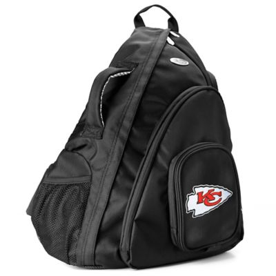 NFL Kansas City Chiefs 19-Inch Travel Sling Backpack