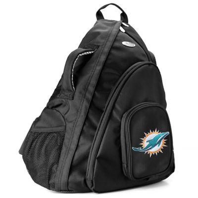 NFL Miami Dolphins 19-Inch Travel Sling Backpack