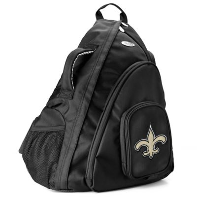 NFL New Orleans Saints 19-Inch Travel Sling Backpack