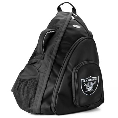 NFL Oakland Raiders 19-Inch Travel Sling Backpack