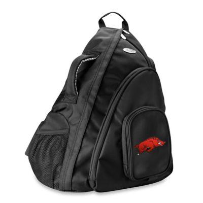 University of Arkansas 19-Inch Travel Sling Backpack