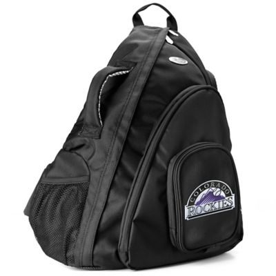 MLB Colorado Rockies 19-Inch Travel Sling Backpack
