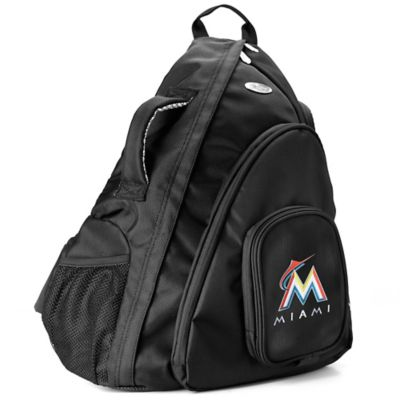 MLB Miami Marlins 19-Inch Travel Sling Backpack