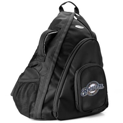 MLB Milwaukee Brewers 19-Inch Travel Sling Backpack