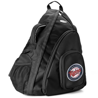 MLB Minnesota Twins 19-Inch Travel Sling Backpack