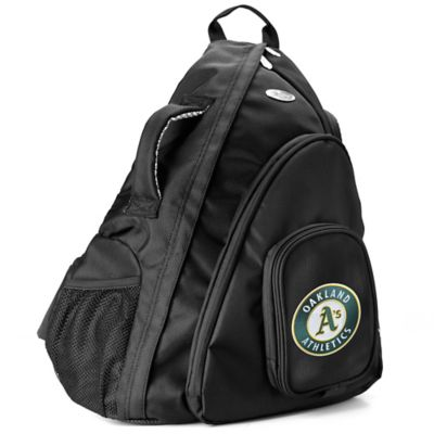 MLB Oakland Athletics 19-Inch Travel Sling Backpack