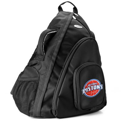 NBA Detroit Pistons 19-Inch Travel Sling Backpack