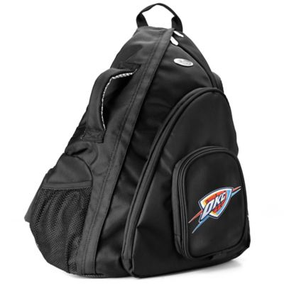 NBA Oklahoma City Thunder 19-Inch Travel Sling Backpack
