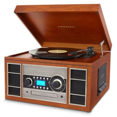 Crosley Wood Record Player
