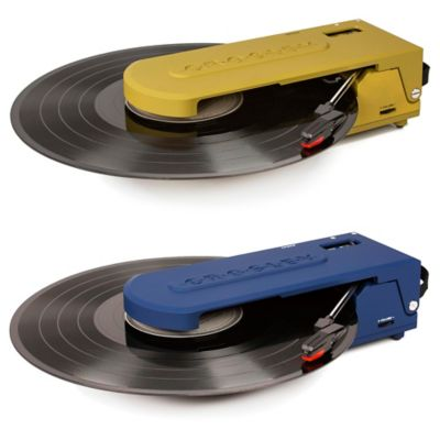 Crosley Revolution USB Turntable in Blue