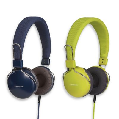 Crosley Amplitone Headphones in Blue