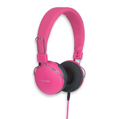 Crosley Amplitone Headphones in Pink