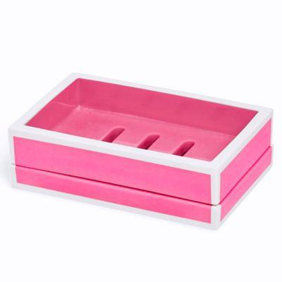 Kassatex Soho Soap Dish in Pink