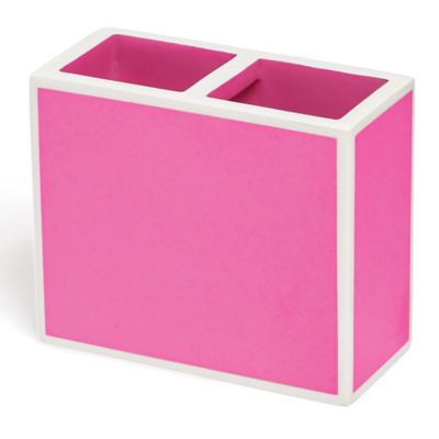 Kassatex Soho Toothbrush Holder in Pink