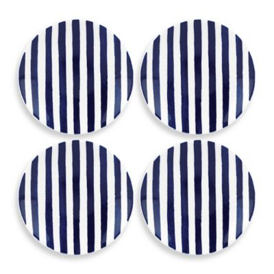 kate spade new york Charlotte Street 6-Inch Tidbit Plates (Set of 4)