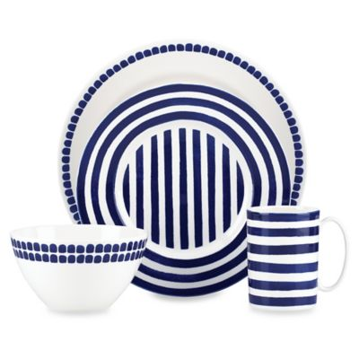 kate spade new york Charlotte Street North 4-Piece Place Setting