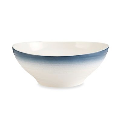Mikasa® Swirl Ombre 9.75-Inch Vegetable Bowl in Blue