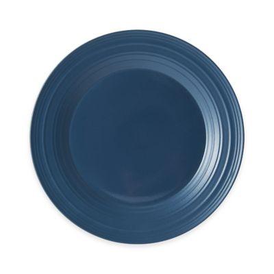 Blue Mikasa Dinner Plates
