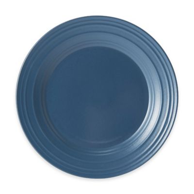 Swirl Salad Plate in Blue