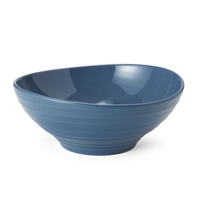 Mikasa® Swirl Cereal Bowl in Blue