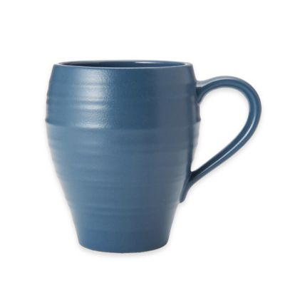 Swirl Mug in Blue