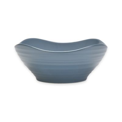 Mikasa® Swirl Square 6.5-Inch Soup/Cereal Bowl in Blue